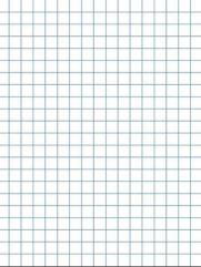"Graph Paper - 1/2"" x 1/2"" (8.5"" x 11"" Pad)"