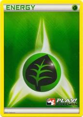 Grass Energy (2011 Play! Pokemon Promo) (P) #N/A (Holo)