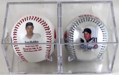 Greg Maddux Commemorative Baseball 2-Pack