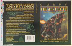 GURPS High Tech (2nd Edition) - Original Cover Production Markups
