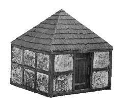 Medieval Village Set #2 - Building #4