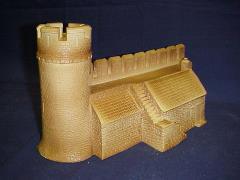 Castle Building Wall D