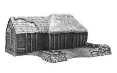 Log Cabin Village Set - Building #1