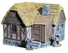Medieval Village Building 4A