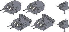 Japan Navy Guns Turret Set (Limited Edition)