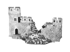 Damaged Castle Wall Expansion Set