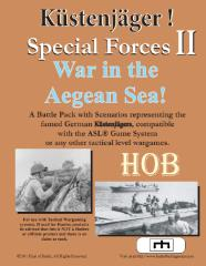 Special Forces #2 - Kustenjager!, War in the Aegean Sea!