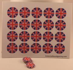 Roundel Sheet - Union Jack