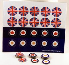 Roundel Sheet - Commonwealth #1