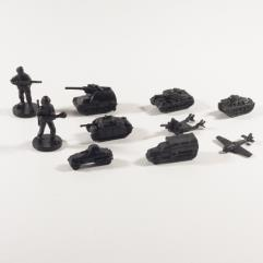Battle Set - German Axis Minors, Black