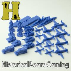 Battle Set - French, Blue