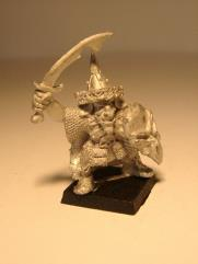 Forest Goblin Champion w/Sword & Shield
