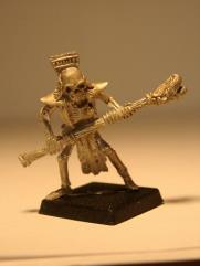 Skeleton Magician w/Demon Head Staff