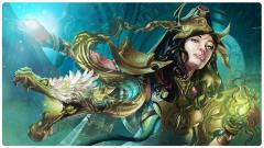 Game Mat - Venompulse Enchantress