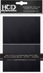 Standard CCG Size - Matte, Black (100)
