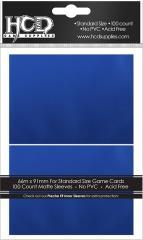 Standard CCG Size - Matte, Blue (100)