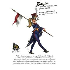 Basia, the Chevaux-legere of the Guard (54mm)