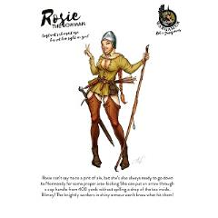 Rosie, the Bowman (28mm)