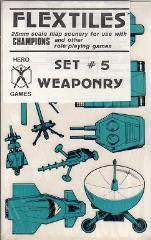 "Flex Tiles - Set #5 ""Weaponry"""