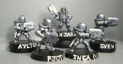 Heavy Infantry Squad Pack (B)