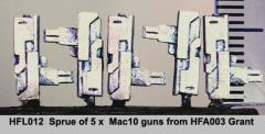 Mac 10 SMG's