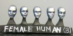 Human Heads - Female (B)