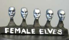 Elven Heads - Female