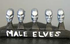 Elven Heads - Male