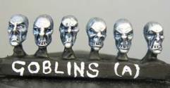 Goblin Heads - Male
