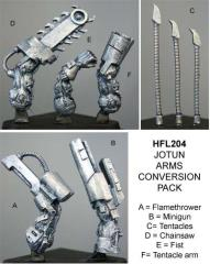 Jotun Arms Conversion Pack