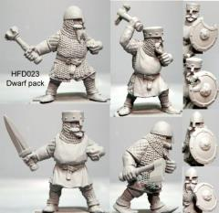 Dwarf Pack w/Hand Weapons
