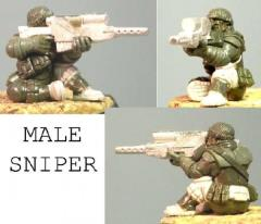Stondraeg - Seated Male Sniper