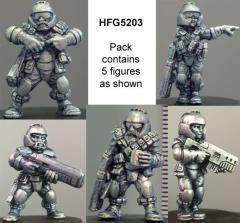 Light Infantry Squad Pack (D)