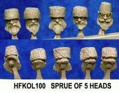 Cossack Heads