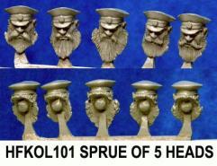 Peaked Cap Head