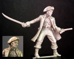 Pirate Captain - Bronze (Limited Edition)