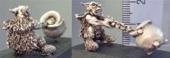 Goblin Pulling a Pot