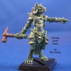 Female Gnoll Cleric