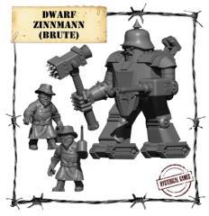 Dwarf Zinn Mann Brute