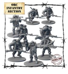 Orc Infantry Section