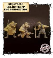 Skogtroll Gevarstropp LMG Demi-Section