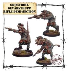 Skogtroll Gevarstropp Rifle Demi-Section