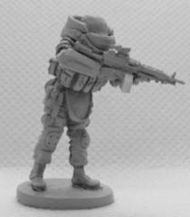 Armoured Assault Trooper w/SAW (Firing)