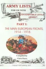 Army Lists #1 - The Main European Fronts, 1914-1918