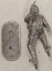 Foot Private Officer w/Revolver #1