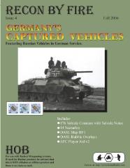 "Recon by Fire #4 ""Germany's Captured Vehicles, 14 Scenarios"" (1st Edition)"
