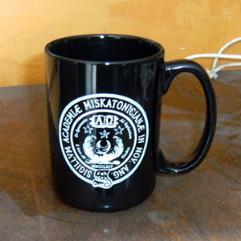 Miskatonic University Mug Black w/White