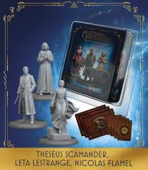 Theseus Scamander, Leta Lestrange, Nicolas Flamel