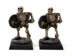 Skeleton w/Club & Shield 2-Pack #1