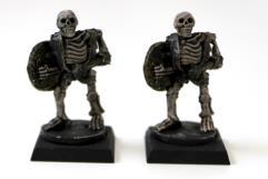 Skeleton w/Club & Shield 2-Pack #2